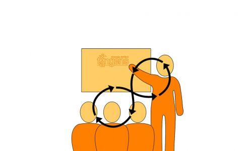 Učinkovita komunikacija med predstavljanjem in poučevanjem